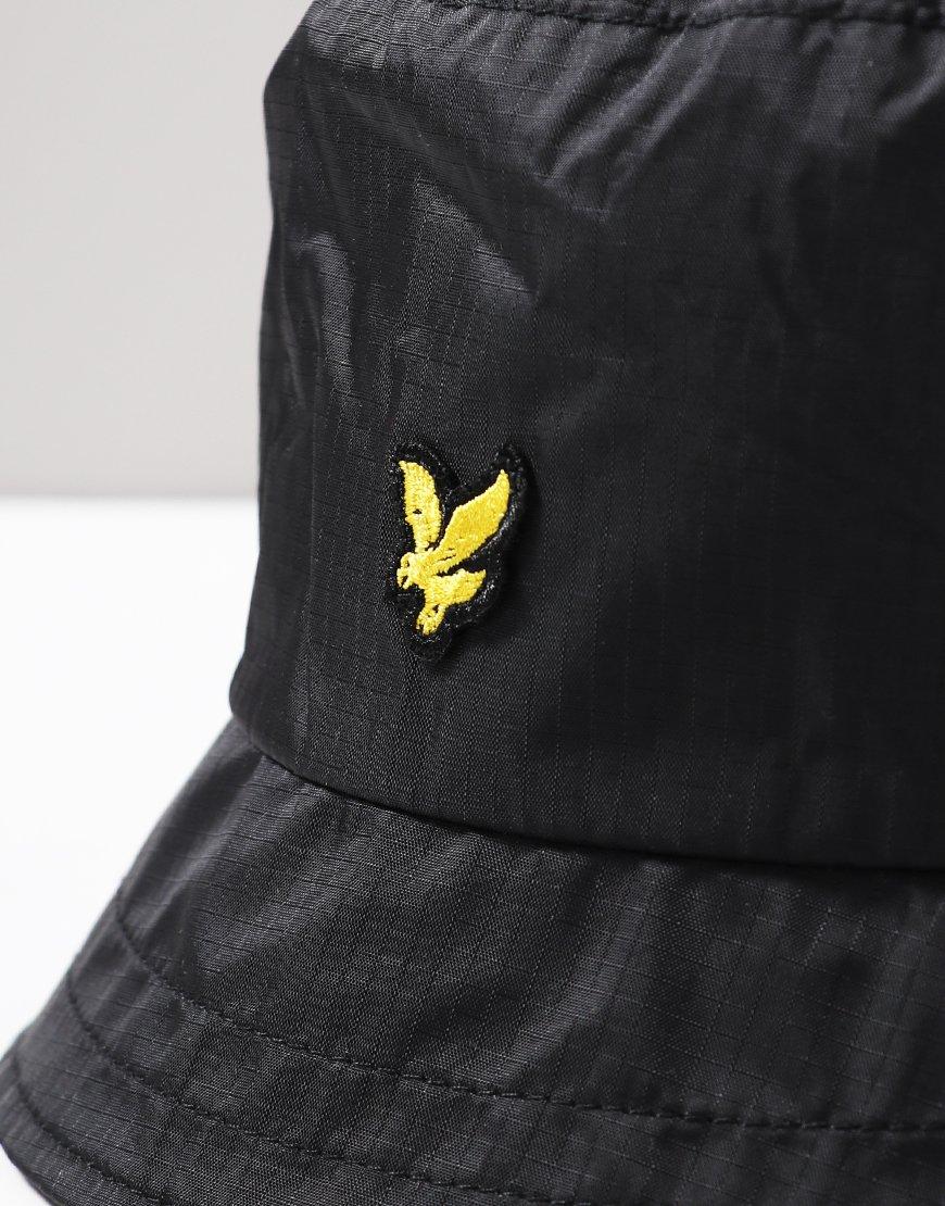 1107ac8e Lyle & Scott Ripstop Bucket Hat Black - Terraces Menswear