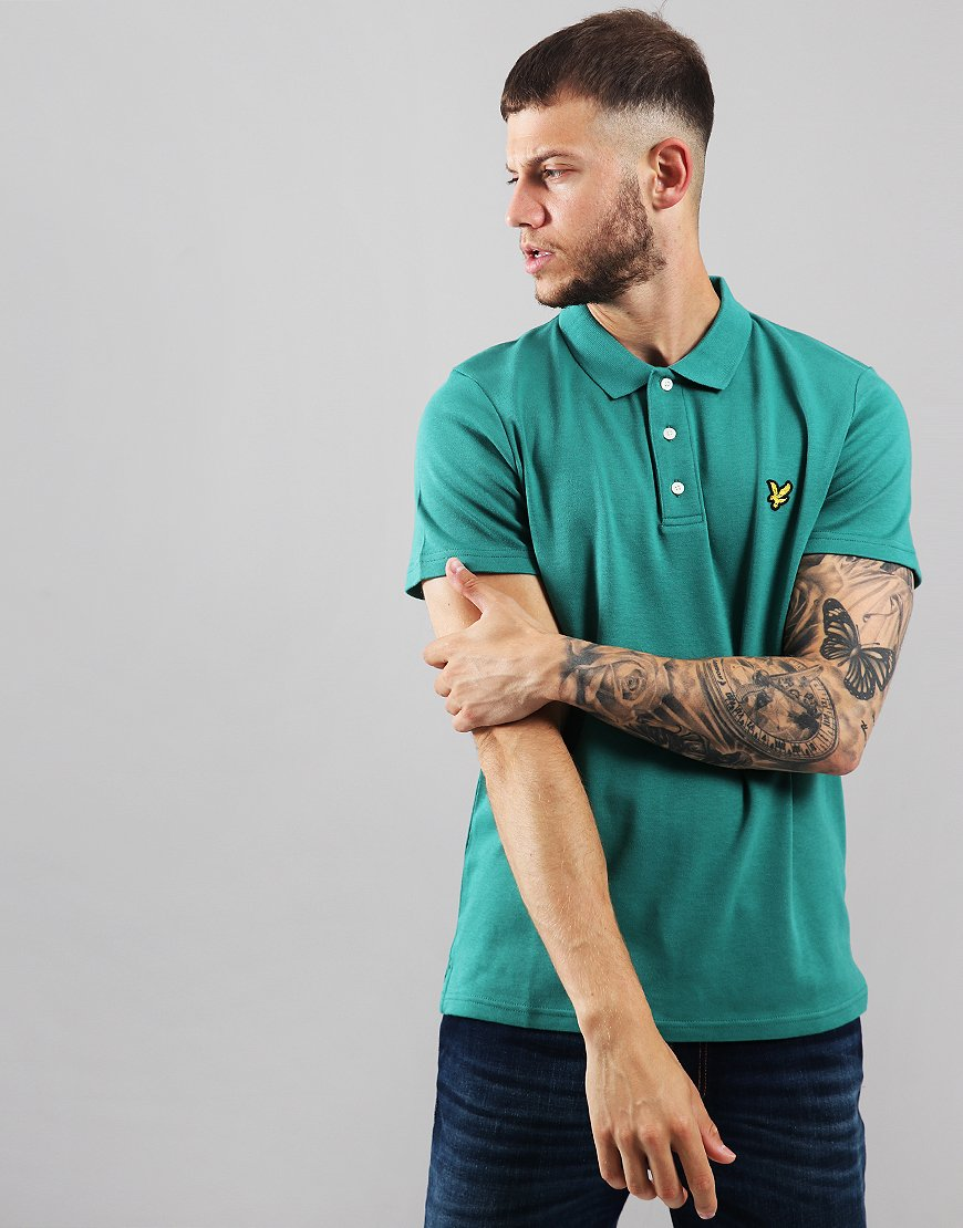 Lyle & Scott Soft Touch Polo Shirt Alpine Green