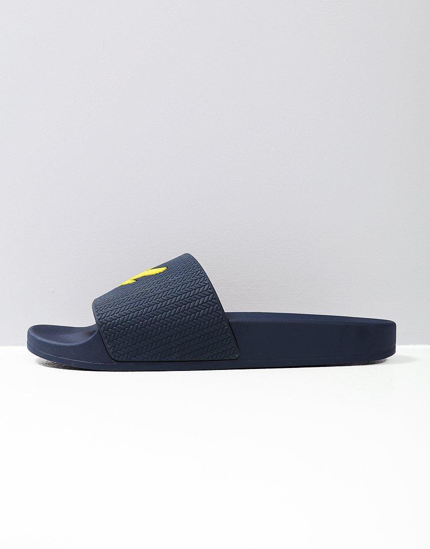 Lyle & Scott Thomson Slides Navy