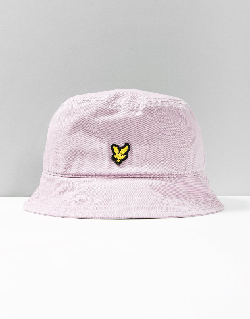 82539e728dd Lyle   Scott Washed Bucket Hat Lilac