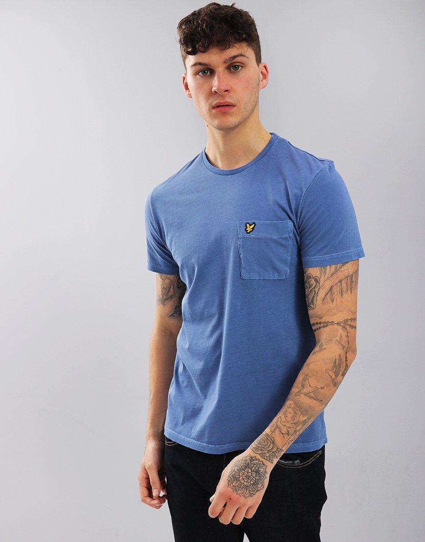 Lyle & Scott Wash T-Shirt Cornflower Blue