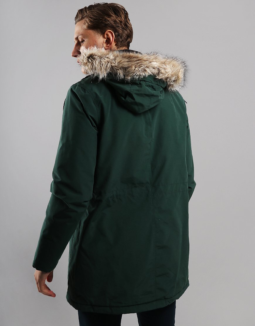 Lyle & Scott Winter Weight Parka Jade Green