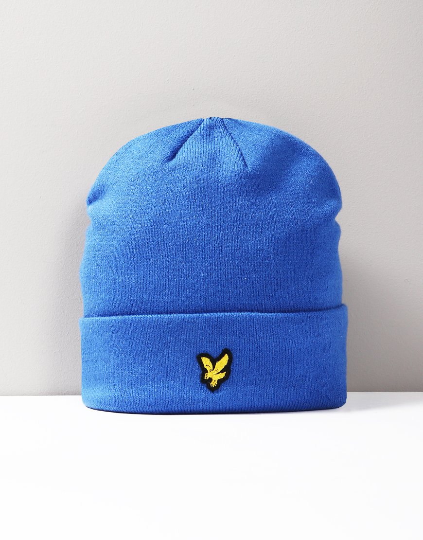 Lyle & Scott Junior Beanie Duke Blue