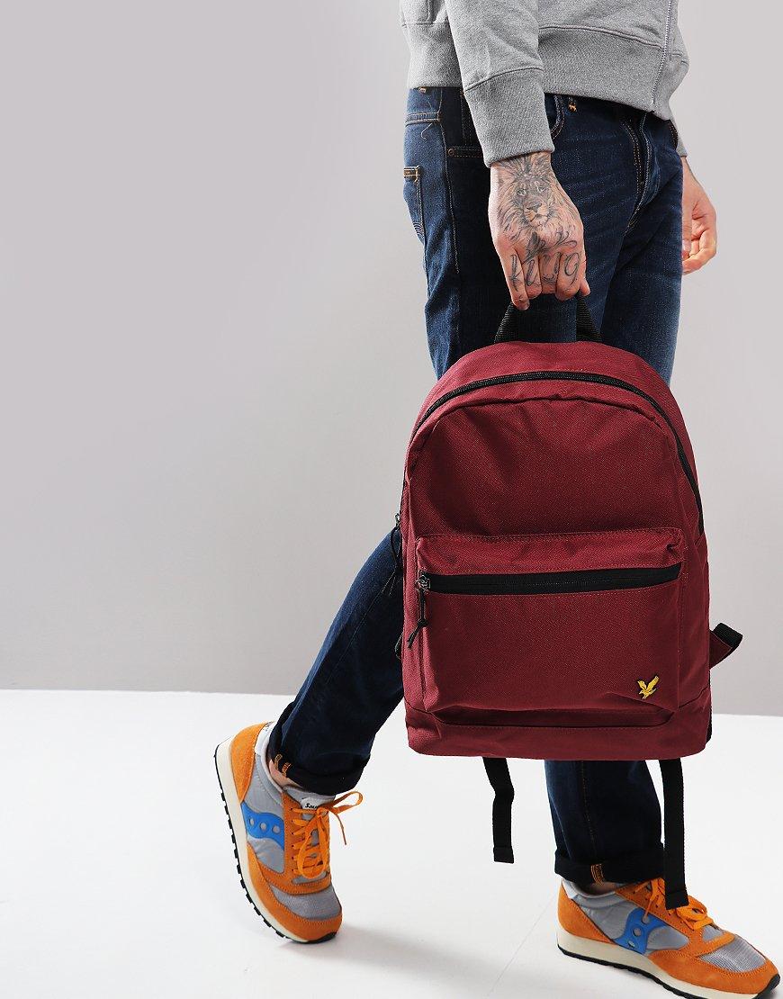 Lyle & Scott Core Backpack Claret Jug