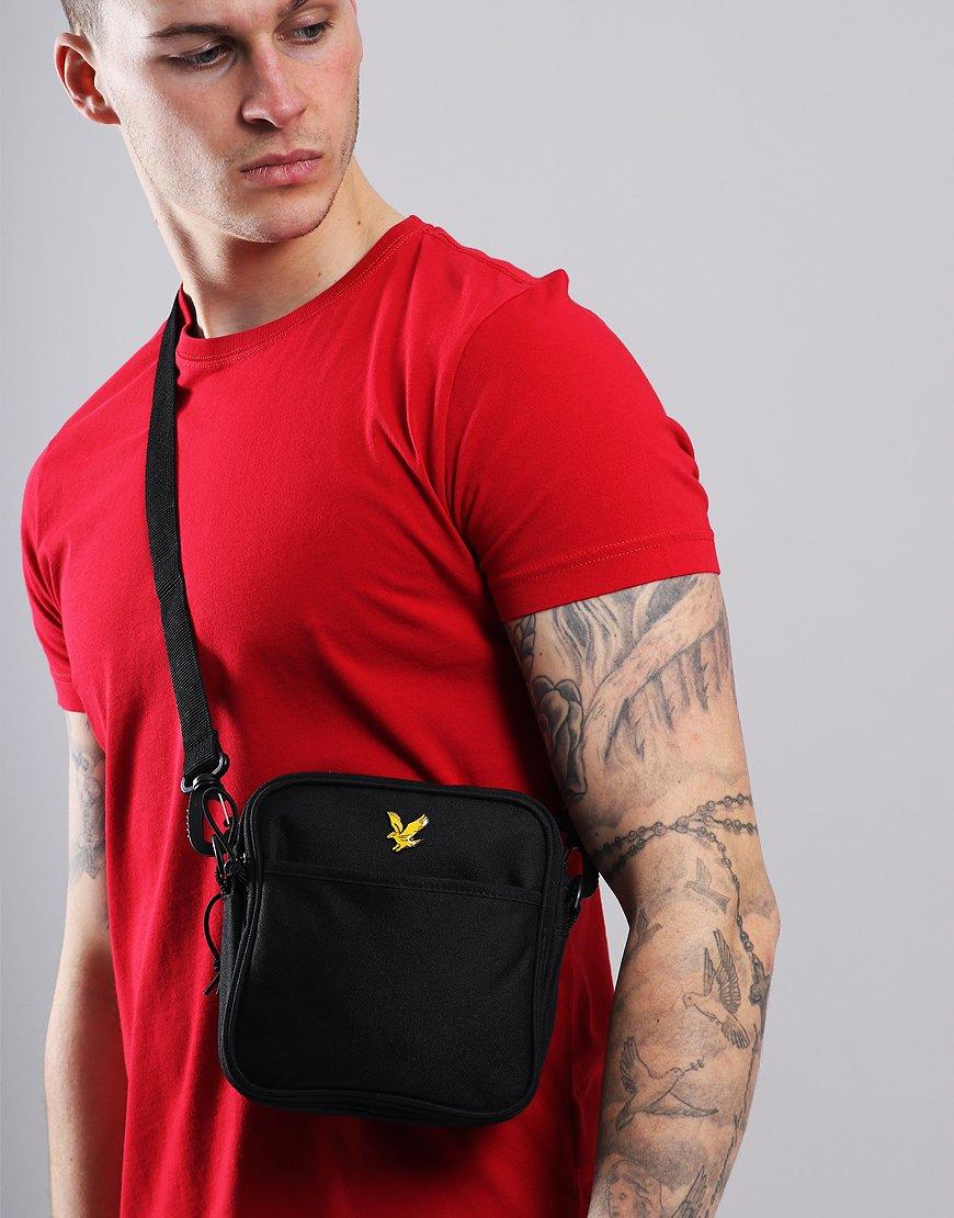 Lyle & Scott Core Side Bag True Black