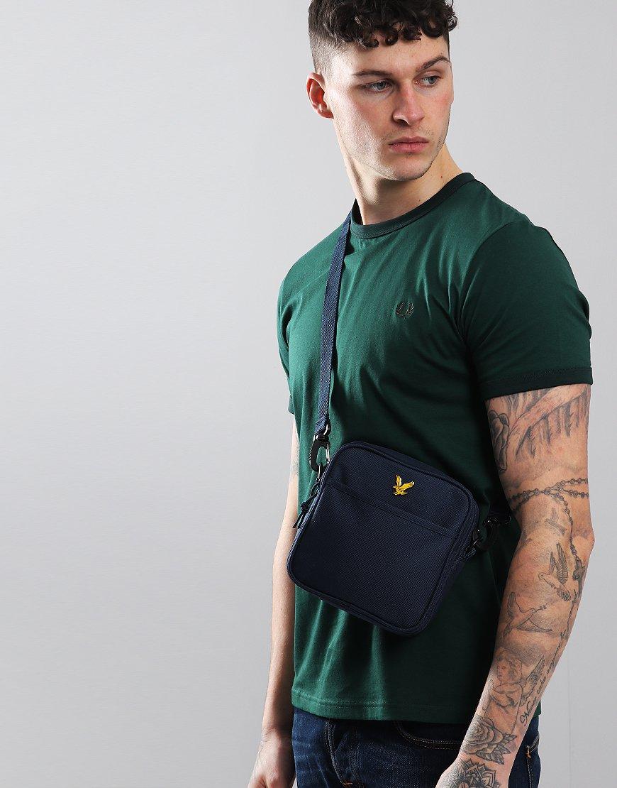 Lyle & Scott Core Side Bag Navy