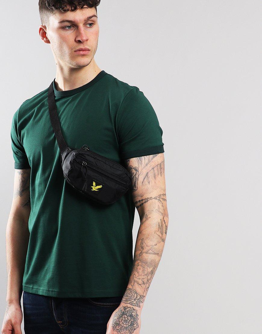 Lyle & Scott Core Utility Waist Bag Black
