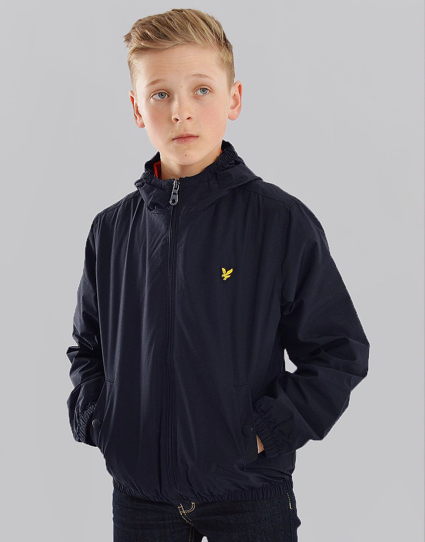 Lyle & Scott Junior Windcheater Jacket Navy Blazer