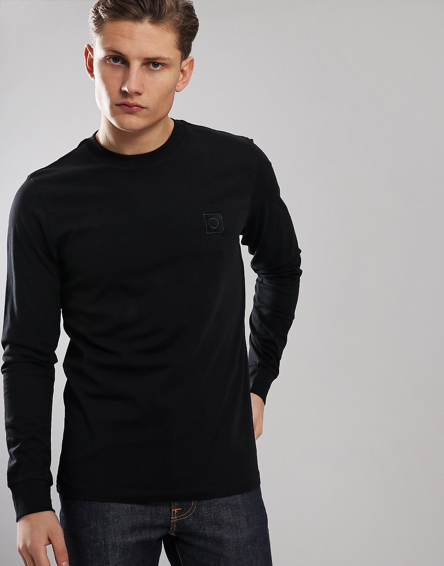 MA.Strum Long Sleeve Icon Logo T-Shirt Jet Black