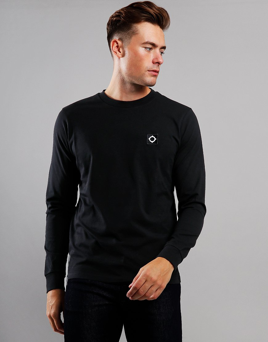 MA.Strum Icon Long Sleeve T-Shirt Jet Black