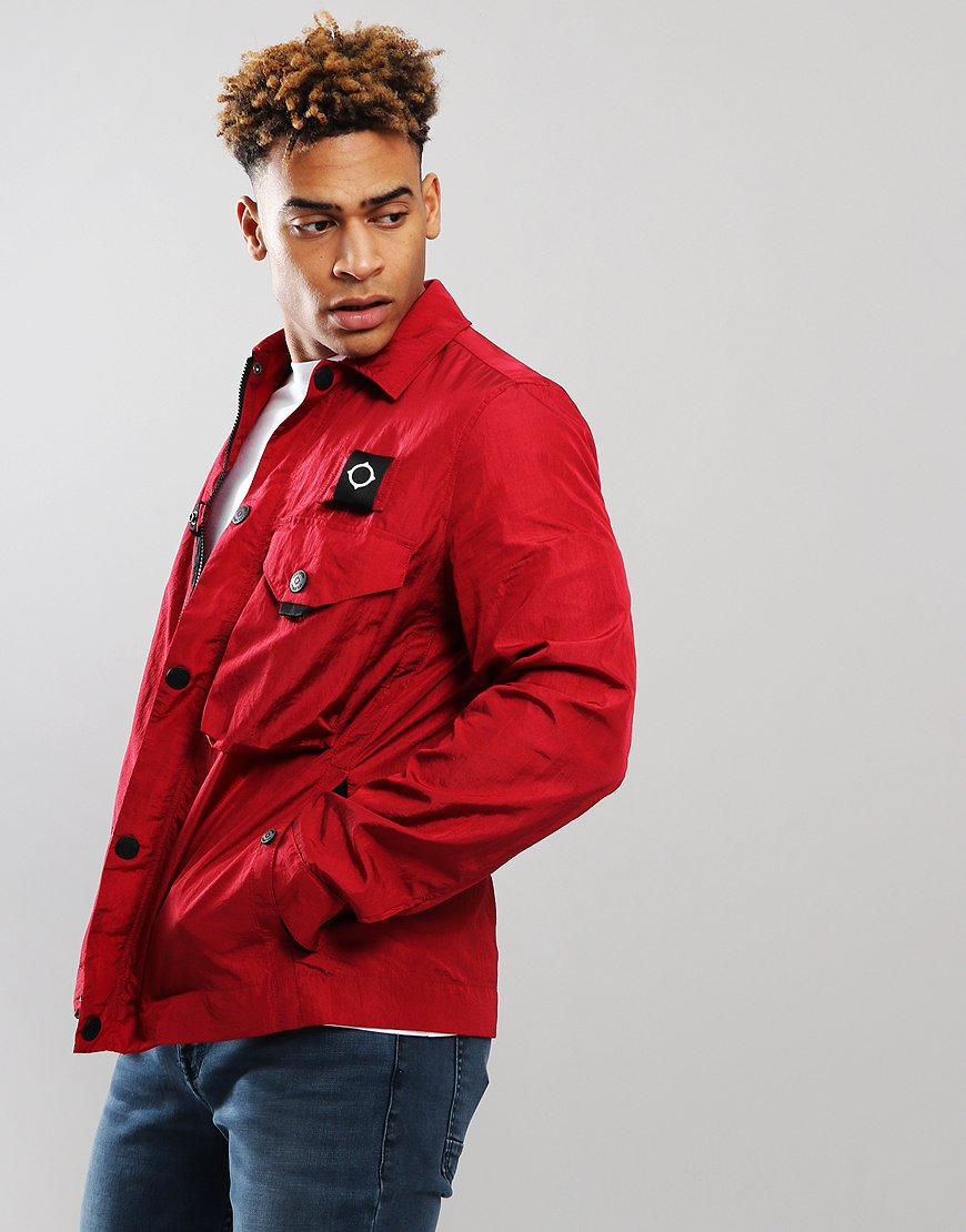 MA.Strum Lacerta Overshirt Jester Red
