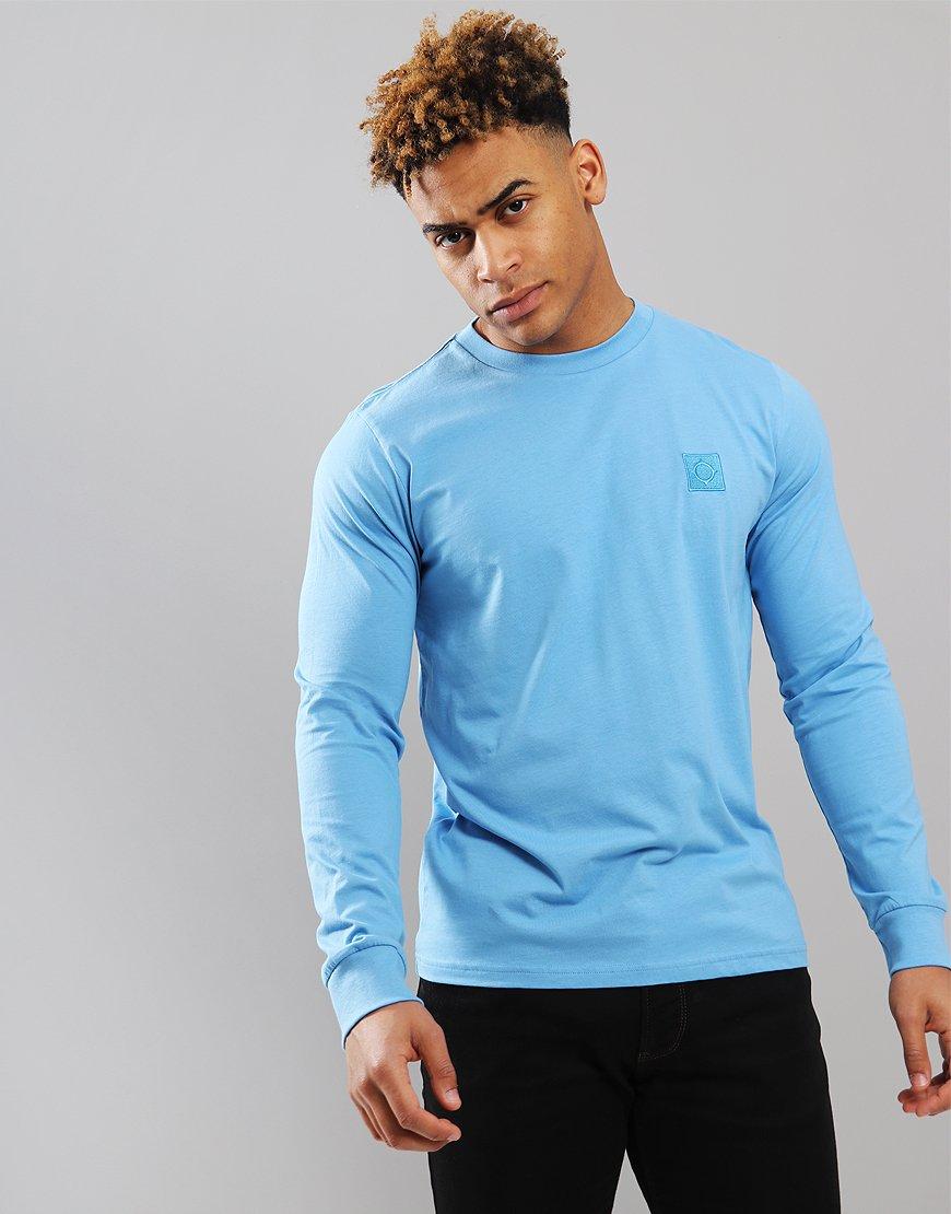 MA.Strum Long Sleeve Icon Logo T-Shirt Dutch Blue
