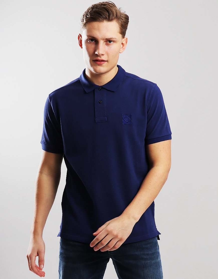 MA.Strum Pique Icon Polo Shirt Dark Indigo