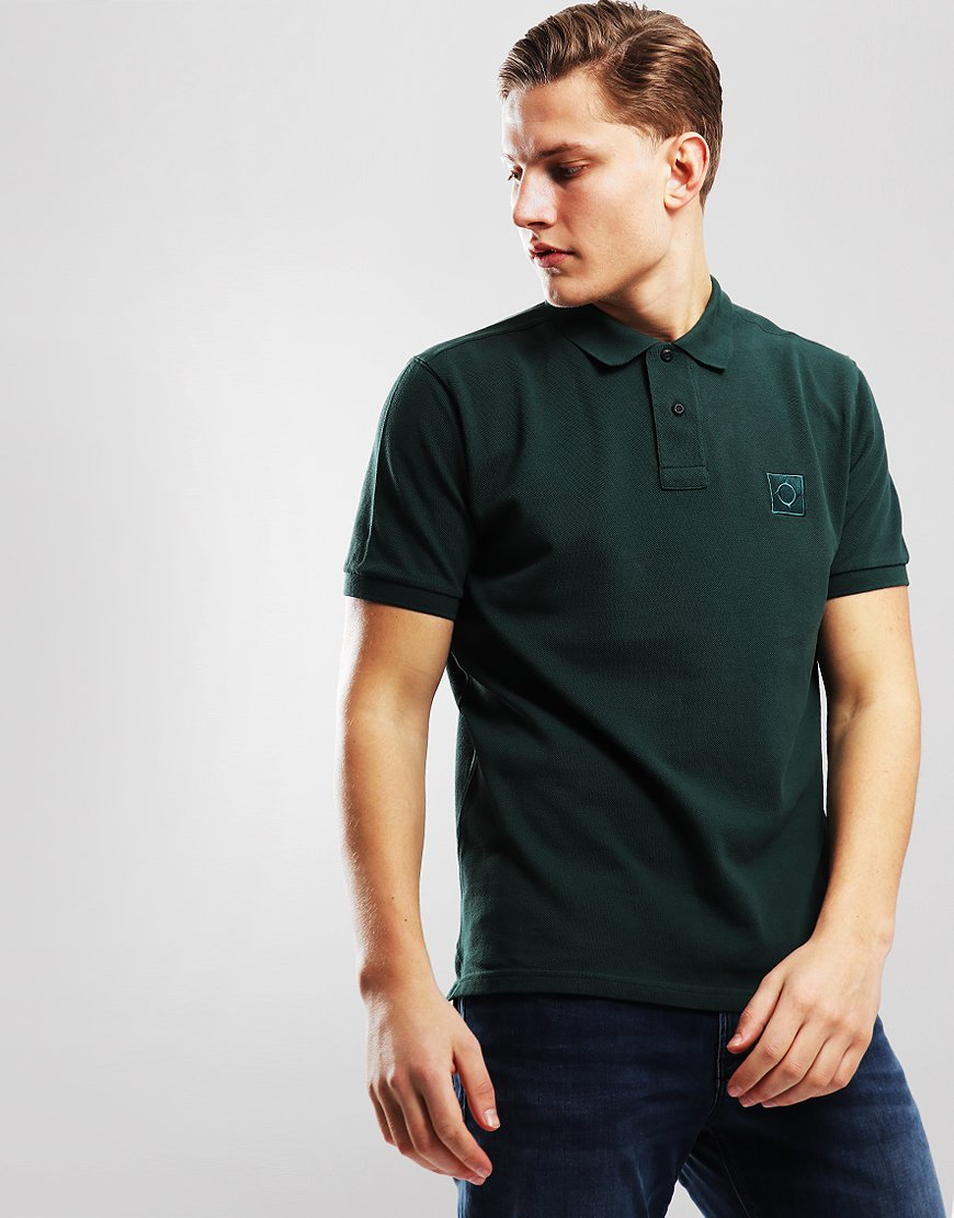 MA.Strum Pique Icon Polo Shirt Forest