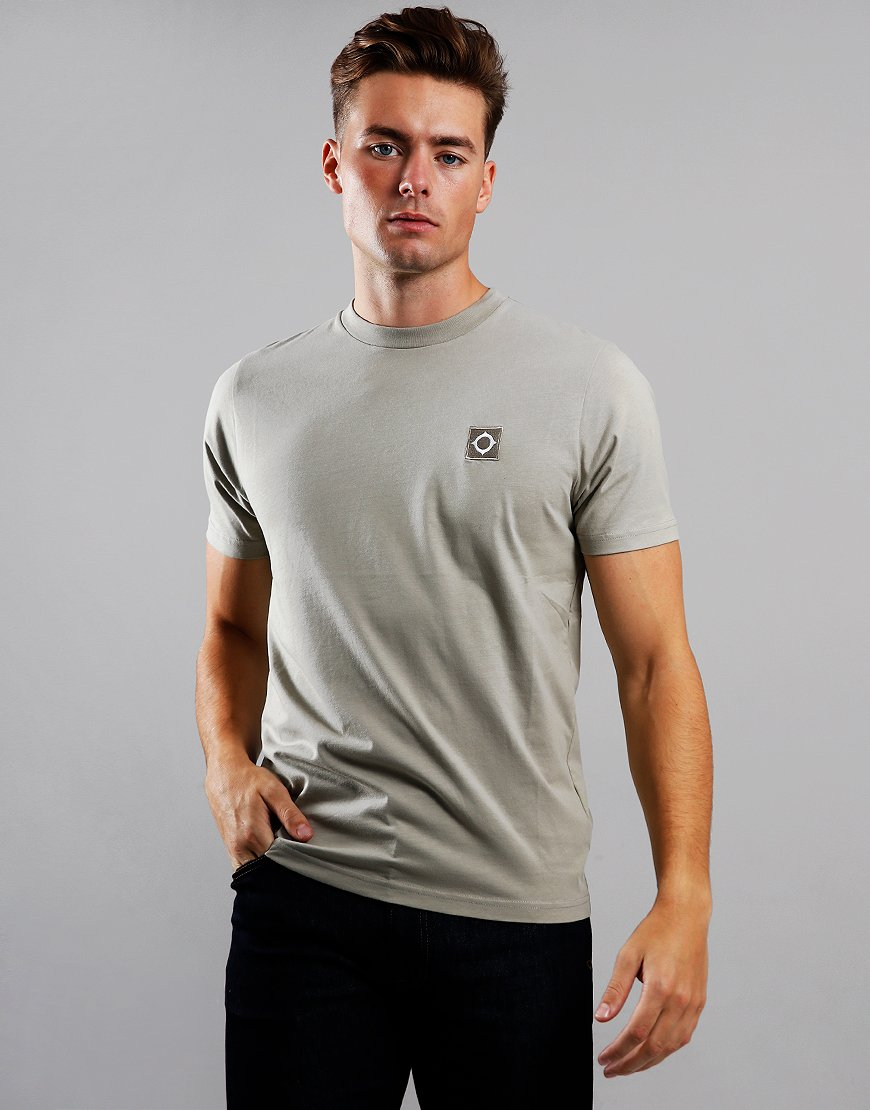 MA.Strum Icon T-Shirt  Silver Goose