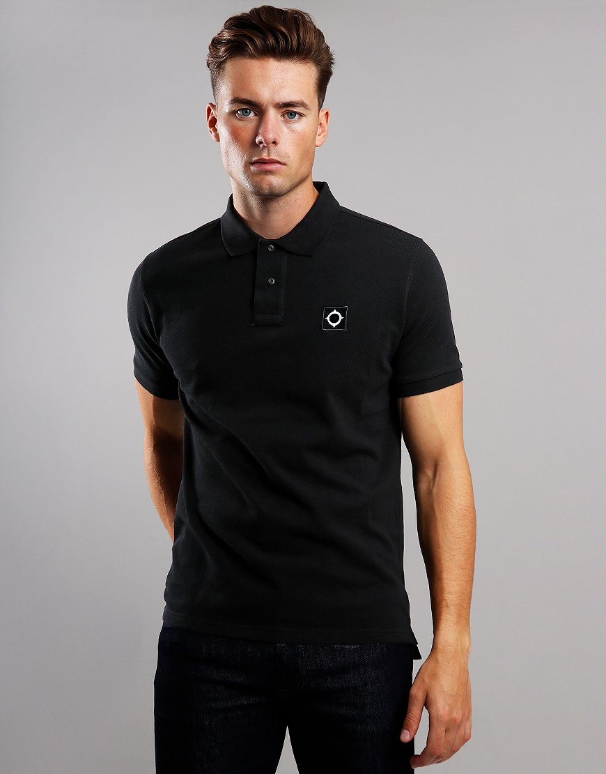 MA.Strum Piqué Polo Shirt Jet Black