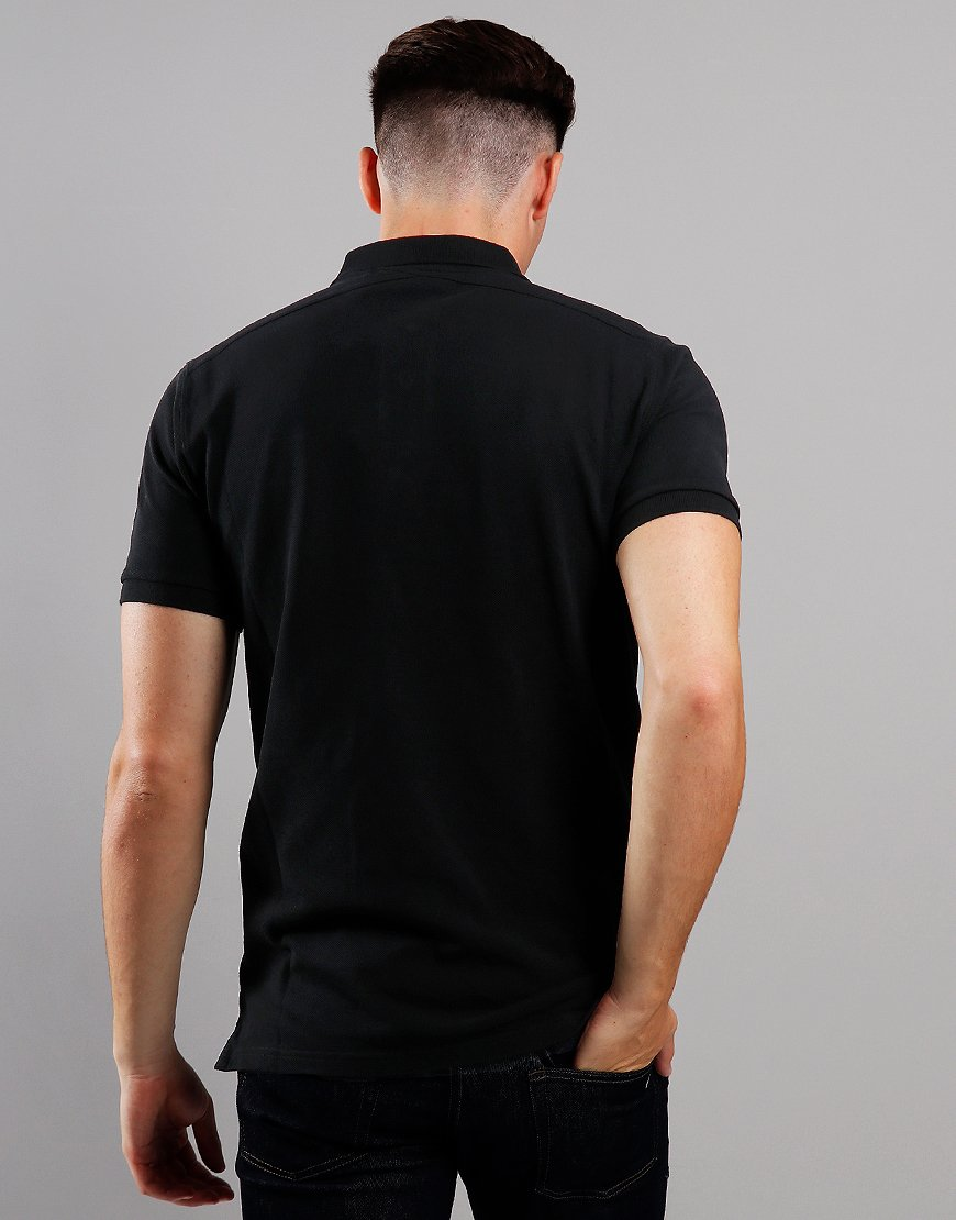 MA.Strum Piqué Polo Shirt Jet Black