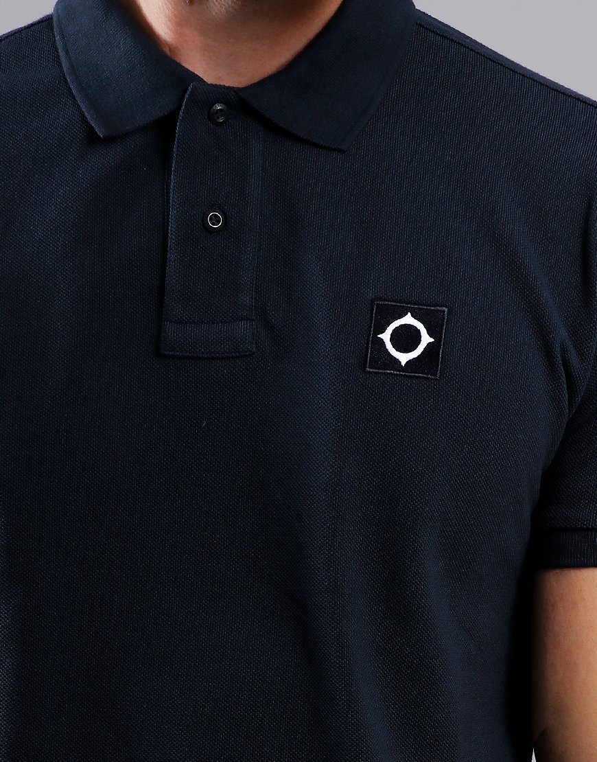 MA.Strum Piqué Polo Shirt Dark Navy