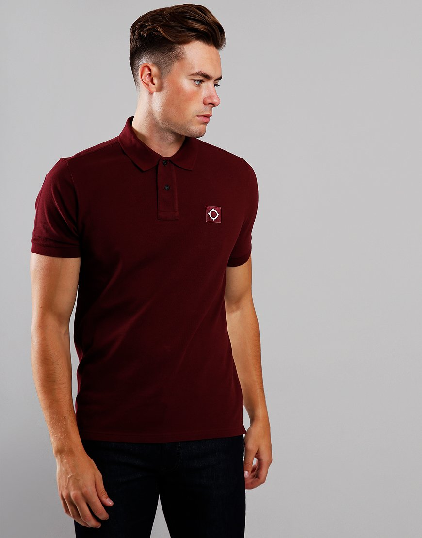 MA.Strum Piqué Polo Shirt Spartan Red