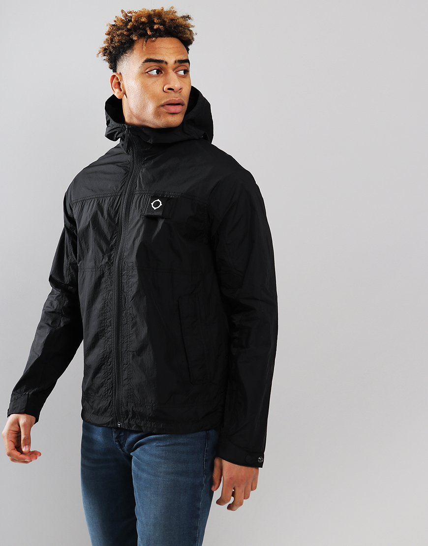 MA.Strum Ultralight Windbreaker Jacket Black