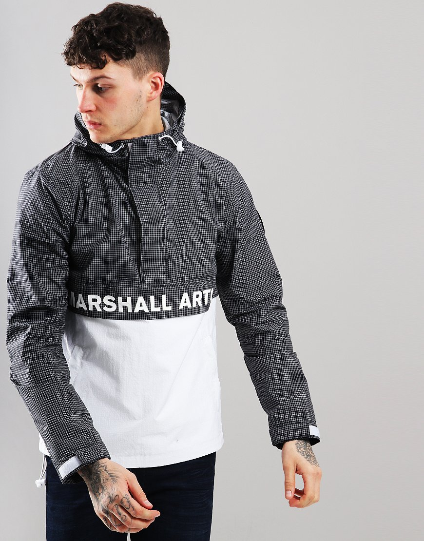 Marshall Artist Half Zip Jacket Navy