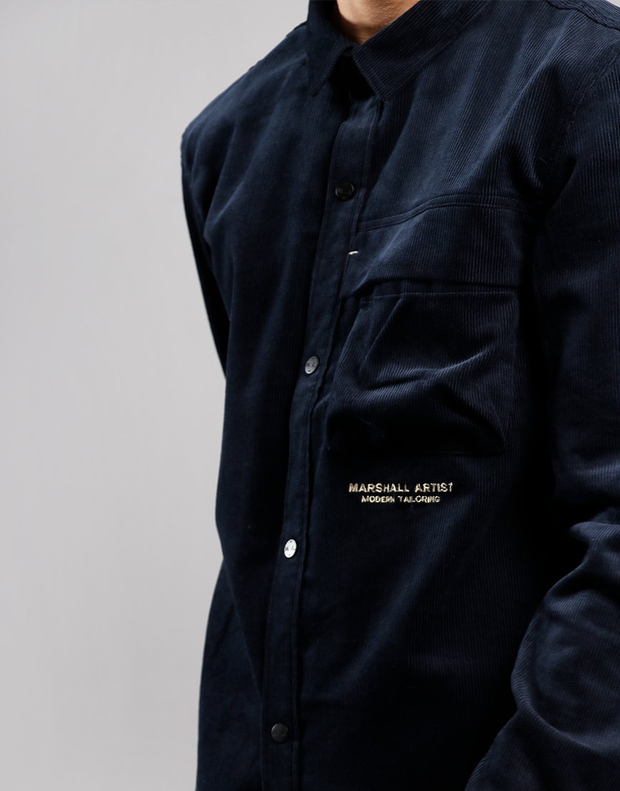 Marshall Artist Cord Shirt Navy