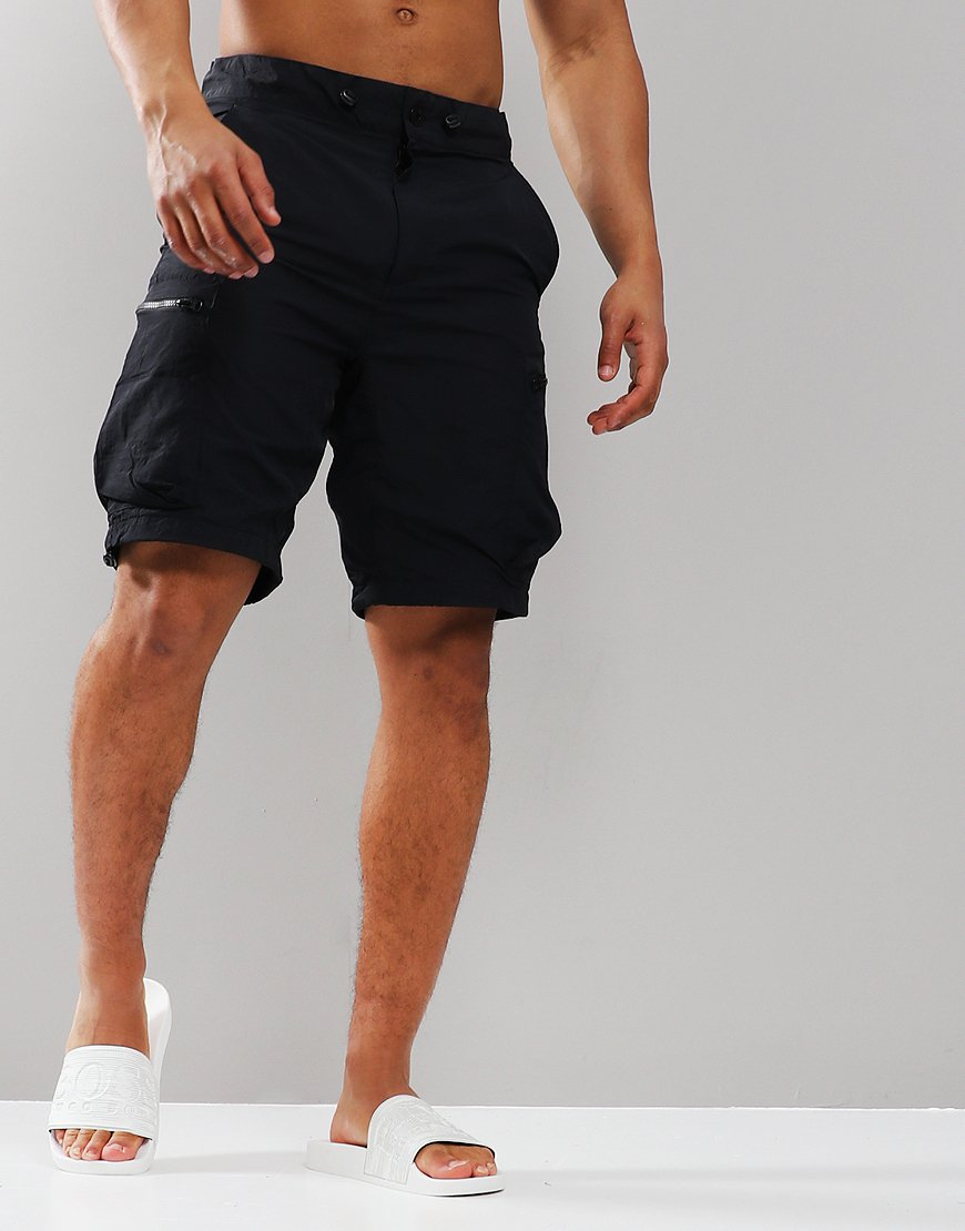 Marshall Artist Garment Dyed Cargo Shorts Navy