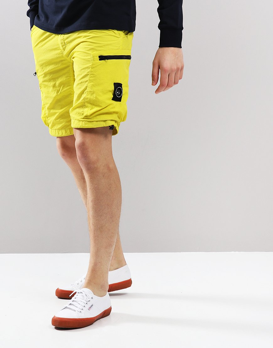 Marshall Artist Garment Dyed Cargo Shorts Sulphur