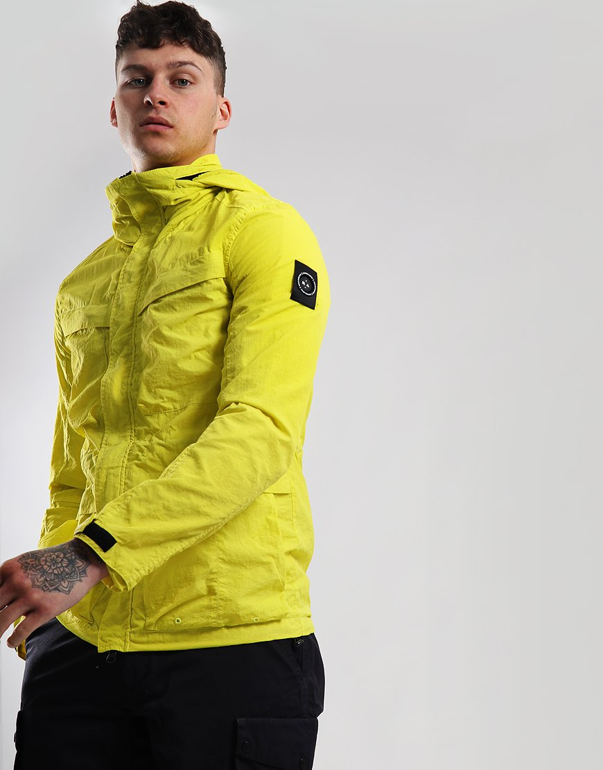 Marshall Artist Garment Dyed Field Jacket Sulphur