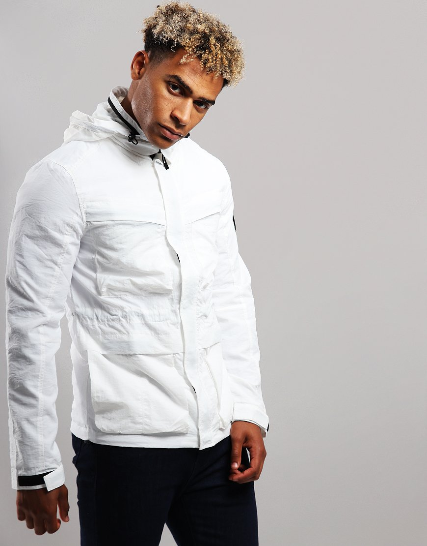 Marshall Artist Garment Dyed Field Jacket White