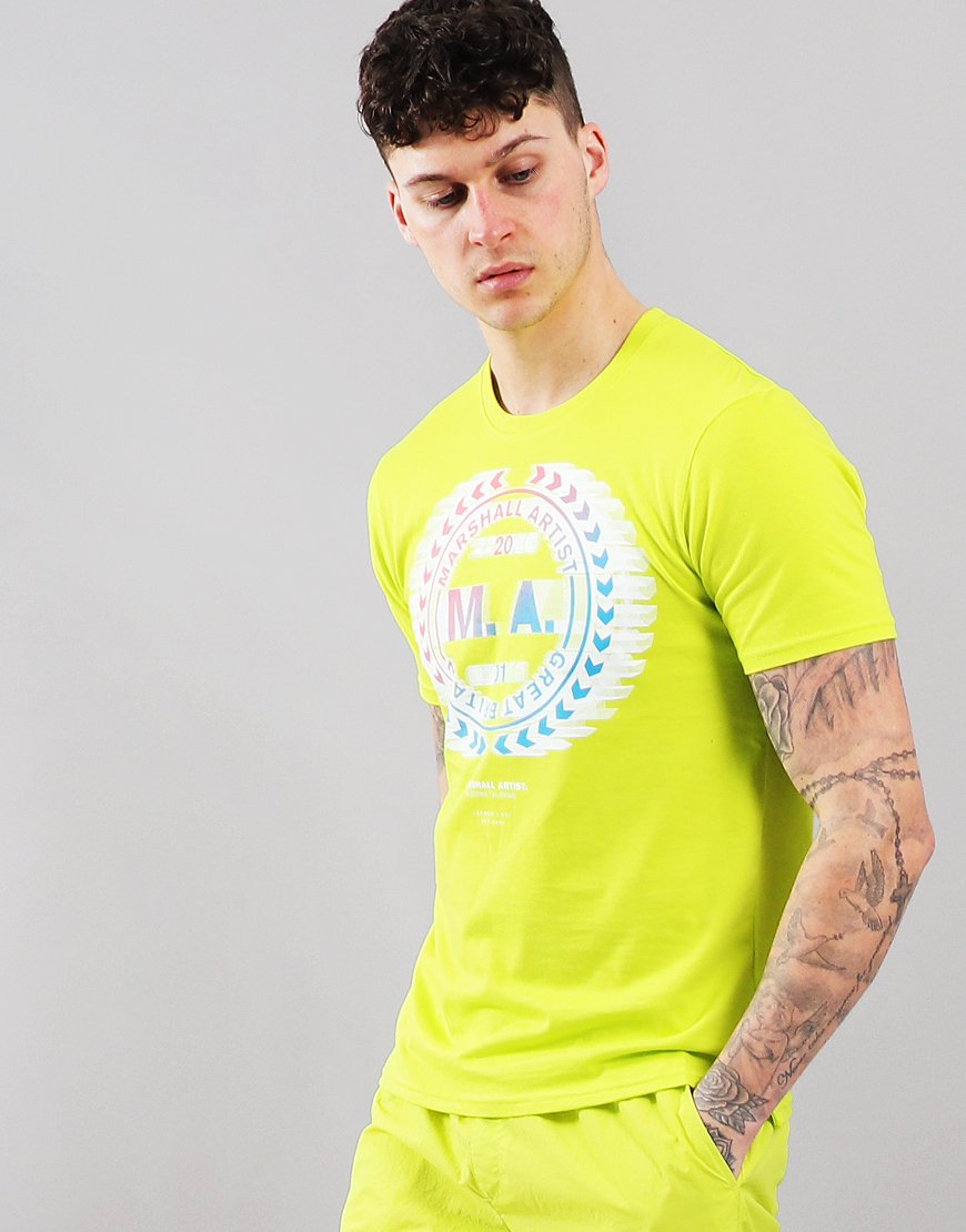 Marshall Artist Graphic T-Shirt Sulphur
