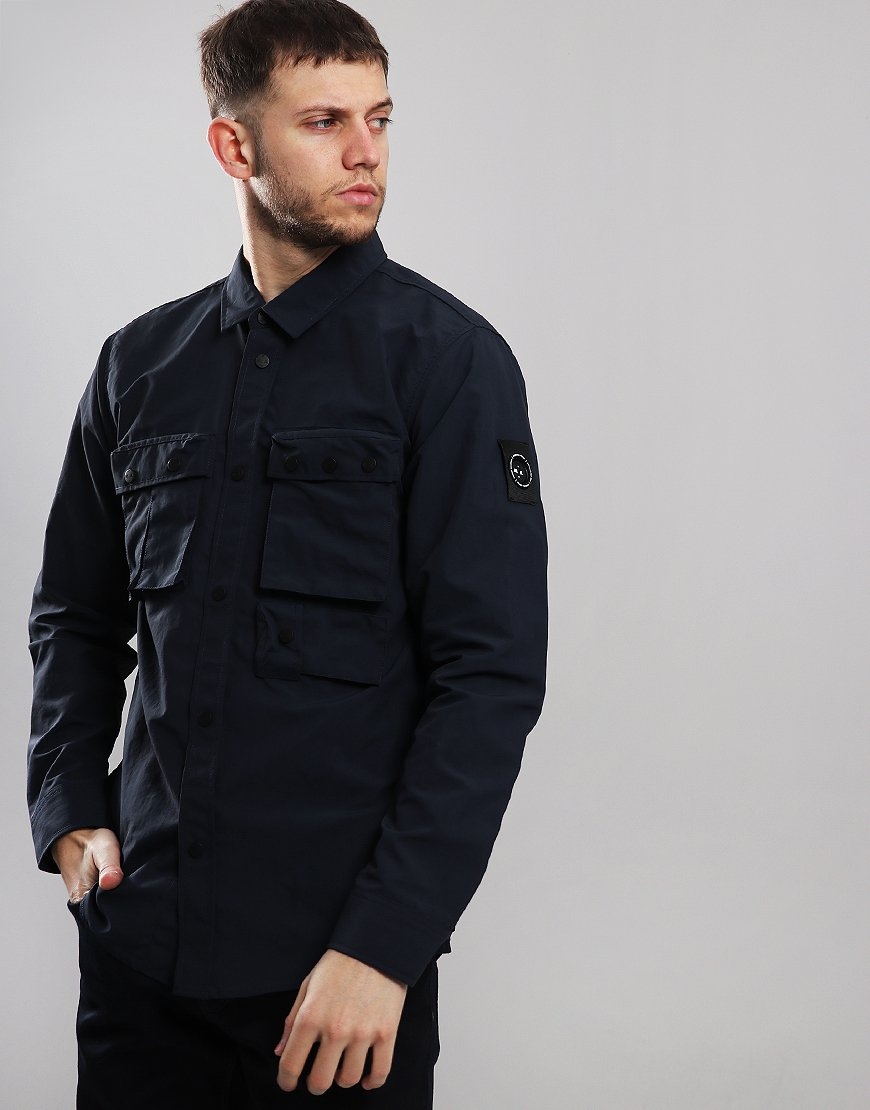 Marshall Artist Hiking Overshirt Navy