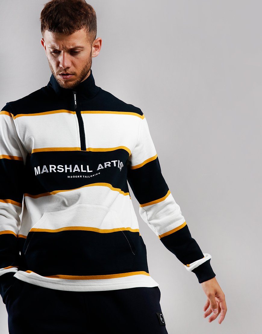 Marshall Artist Hoop Half Zip Sweat Navy