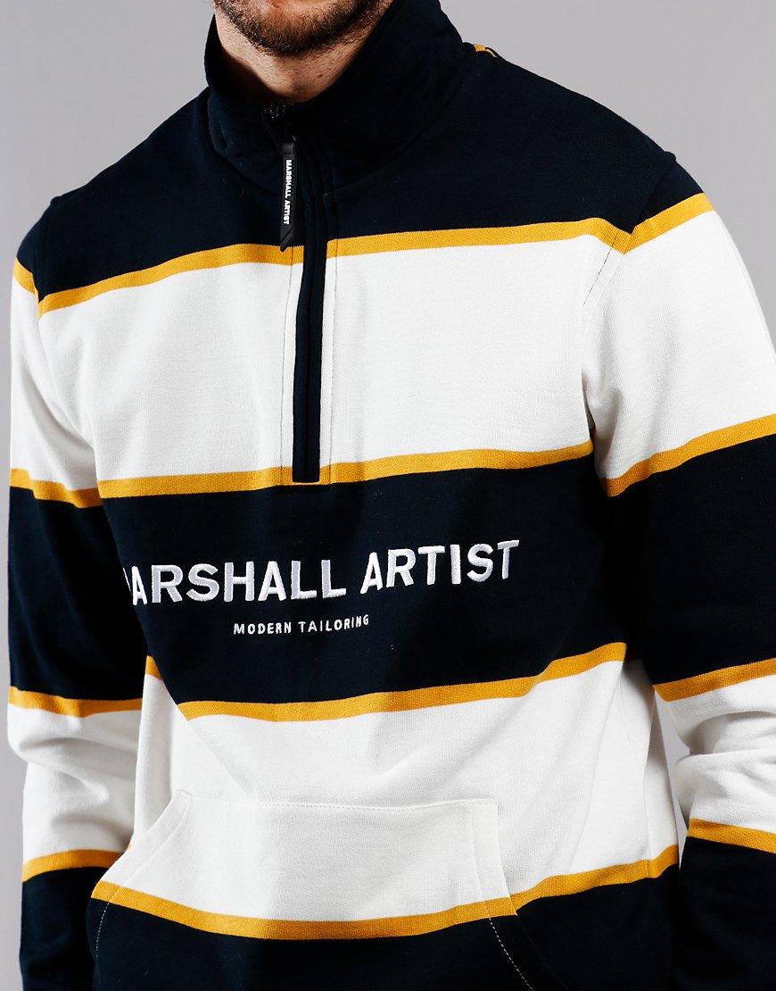 Marshall Artist Hoop Half Zip Sweat Navy