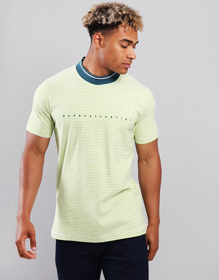 Marshall Artist Mock Neck T-Shirt Sulphur