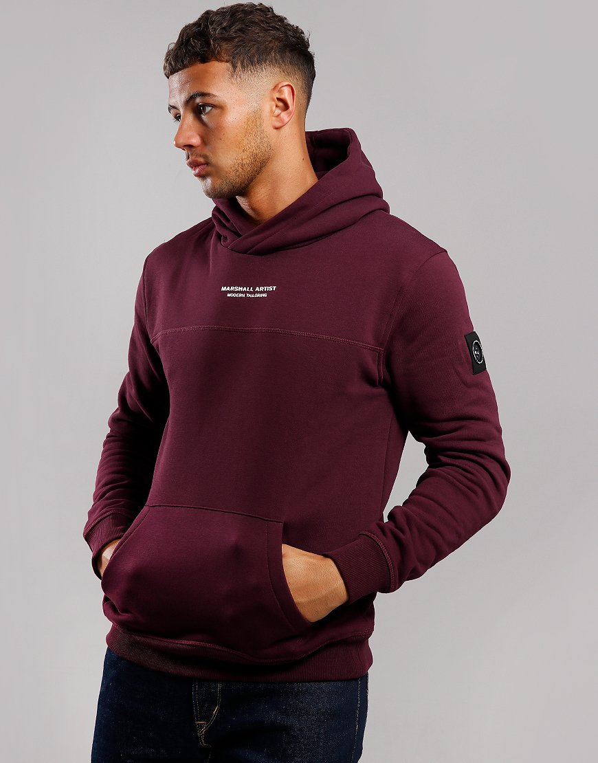 Marshall Artist Siren OTH Hooded Sweat Burgundy