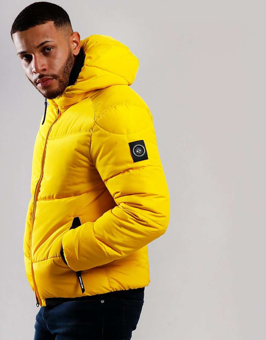 Marshall Artist Paninaro Bubble Jacket Bright Yellow