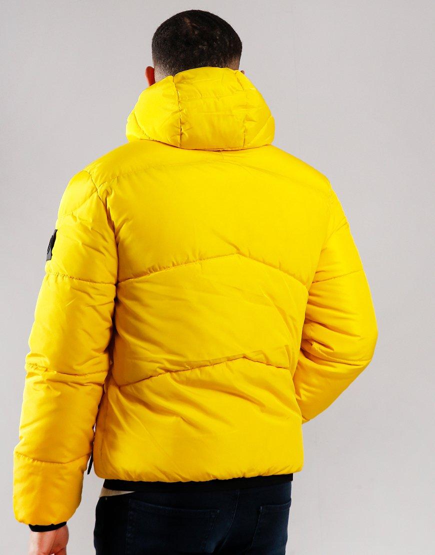 Marshall Artist Paninaro Bubble Jacket Bright Yellow
