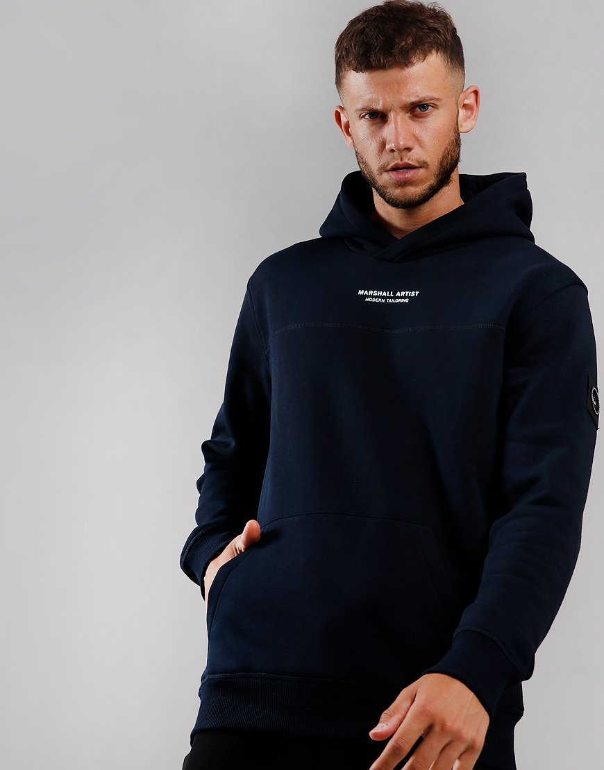 Marshall Artist Siren OTH Hooded Sweat Navy