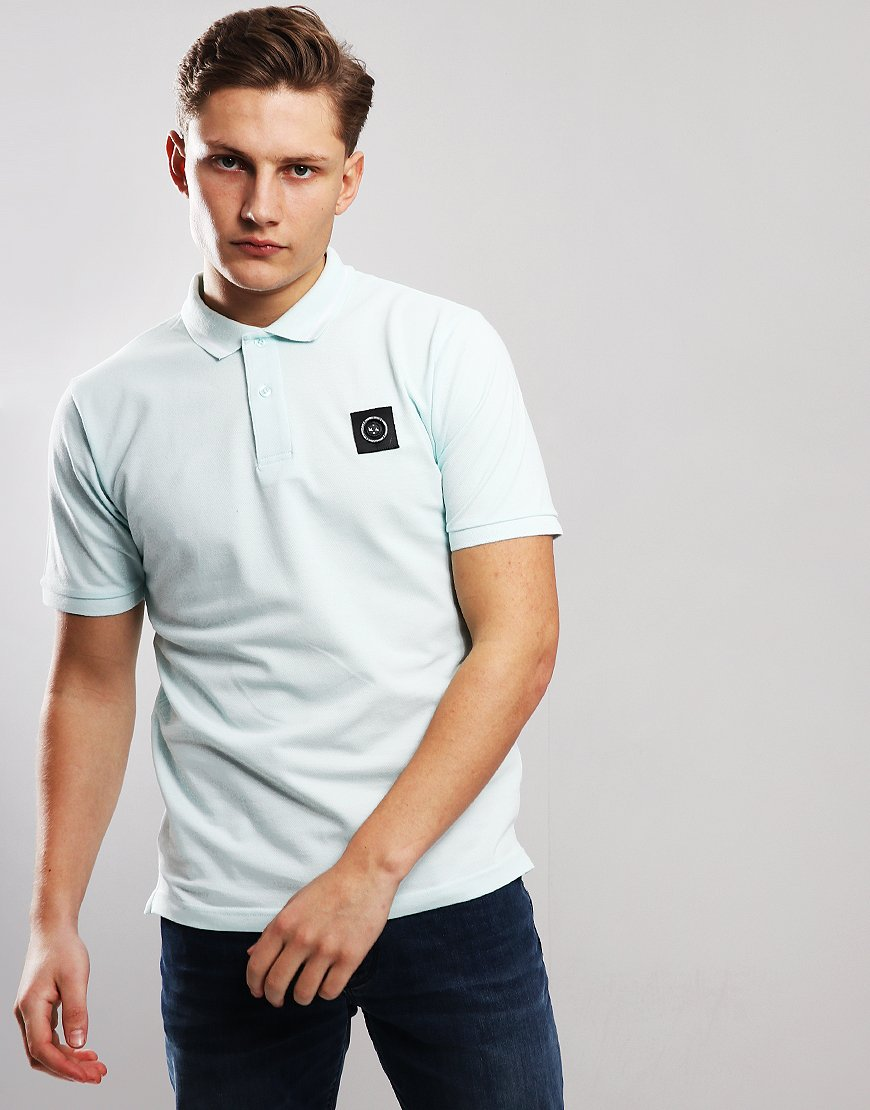 Marshall Artist Siren Polo Shirt Light Aqua