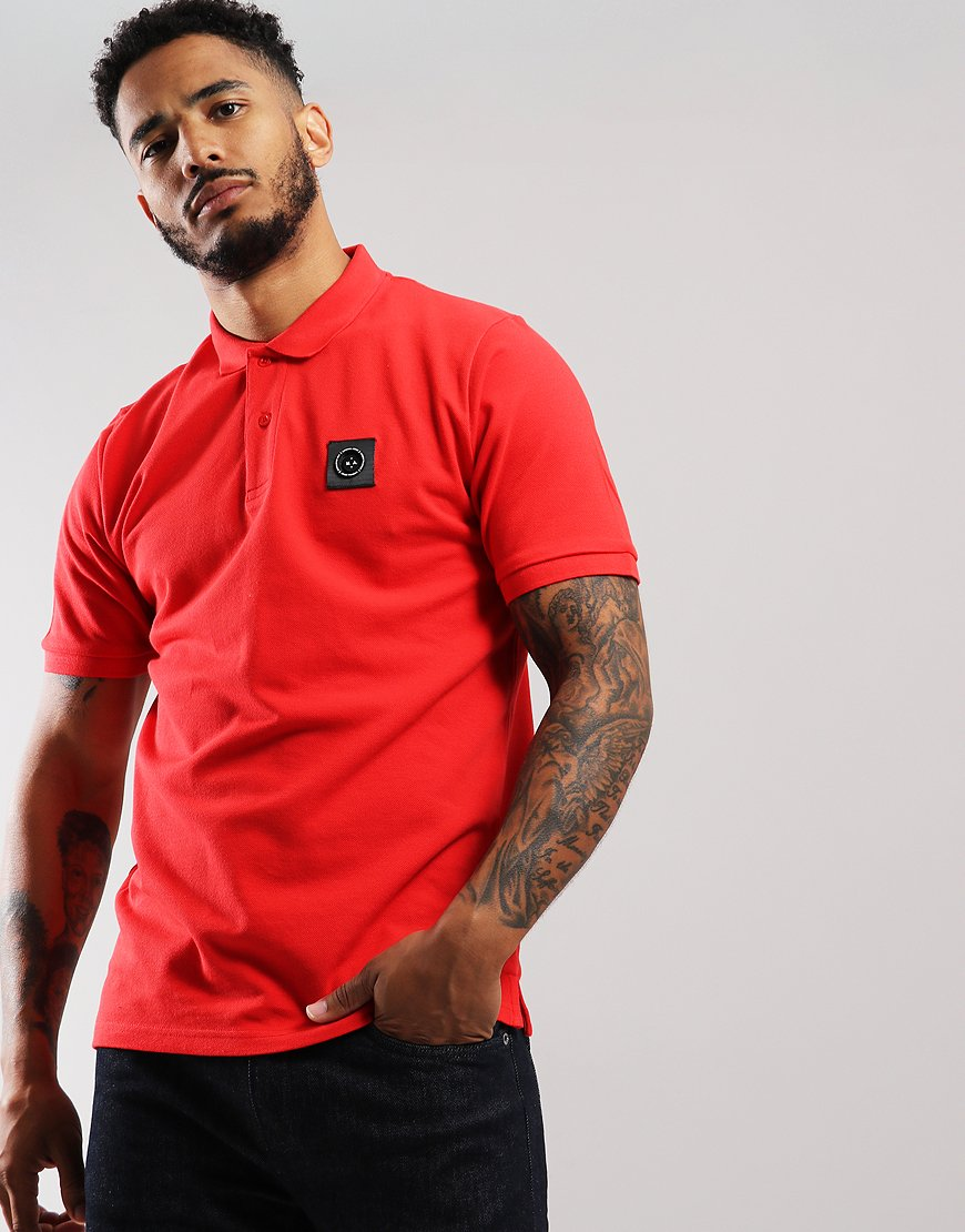 Marshall Artist Siren Polo Shirt Red