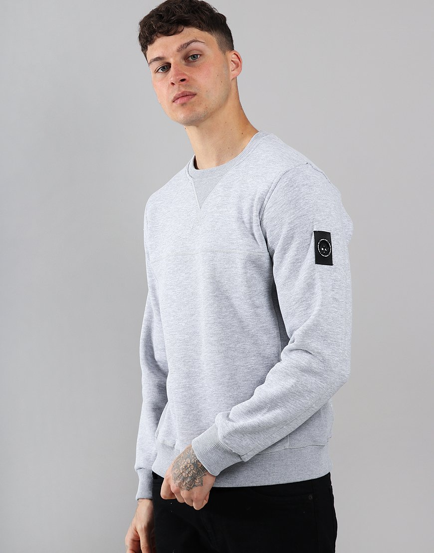 Marshall Artist Siren Crew Neck Sweat Grey Marl