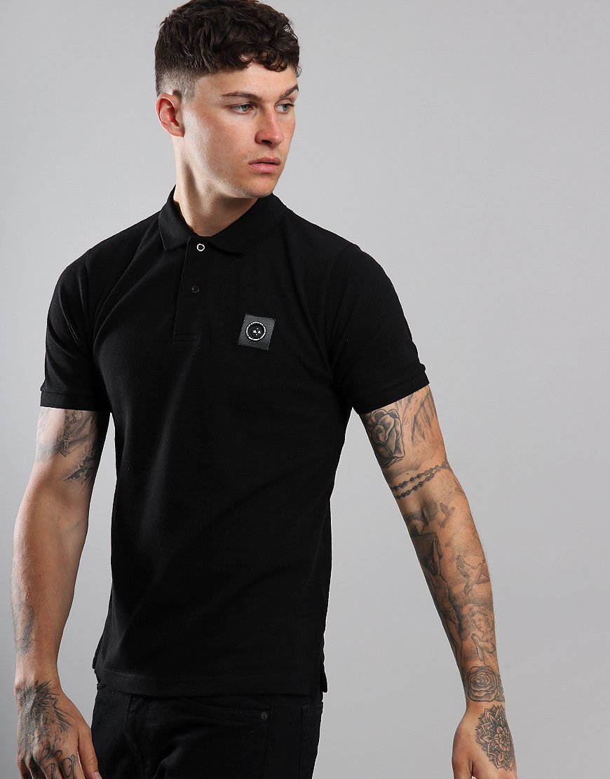 Marshall Artist Siren Polo Shirt Black