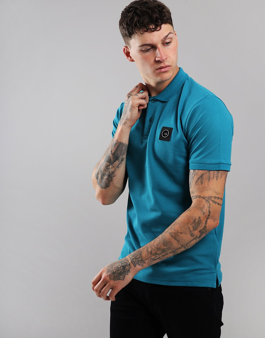 Marshall Artist Siren Polo Shirt Teal
