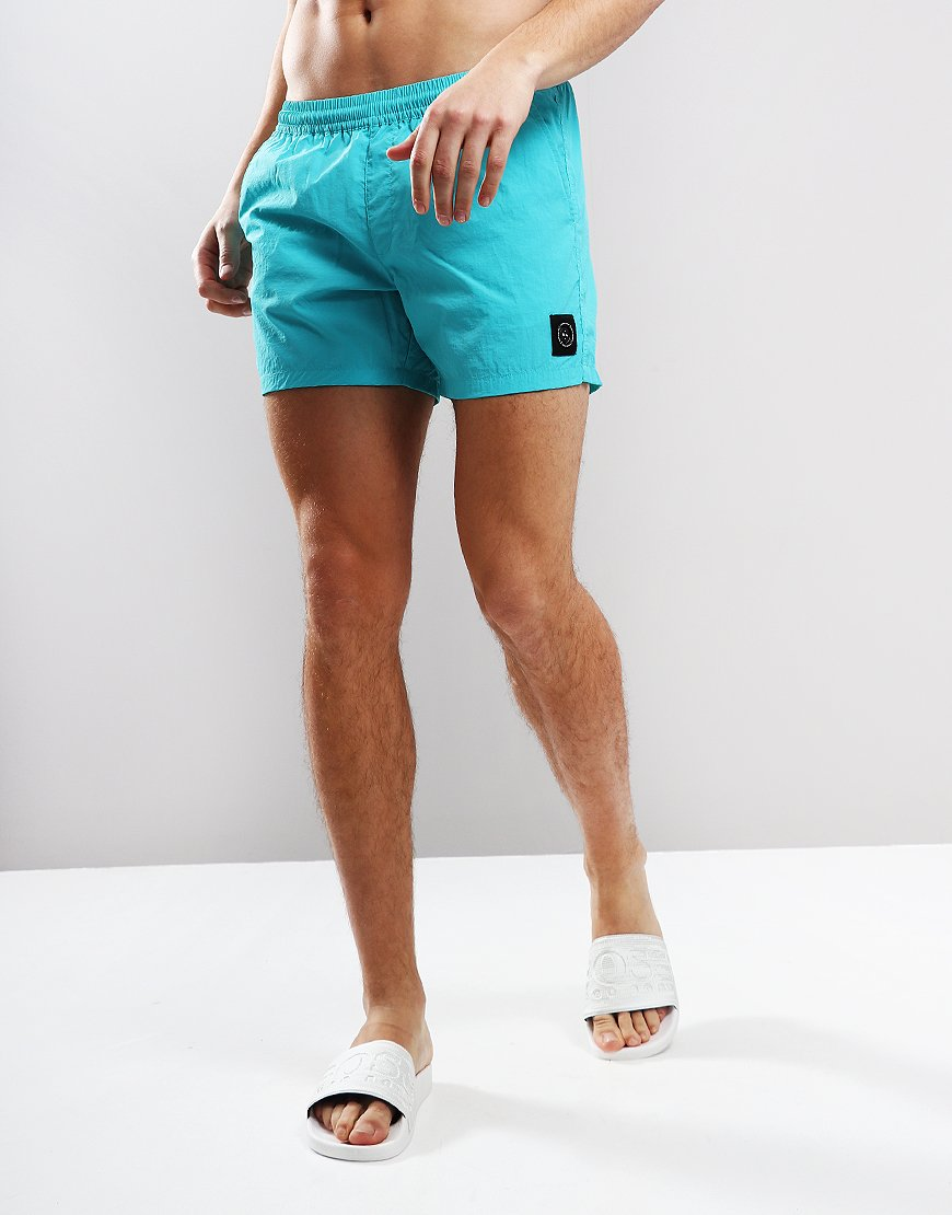 Marshall Artist Swim Shorts Aqua