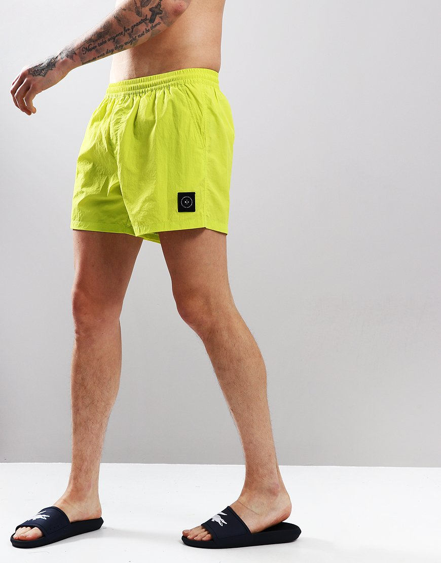 Marshall Artist Swim Shorts Sulphur