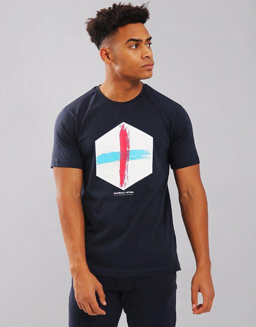 Marshall Artist United Colour T-Shirt Navy