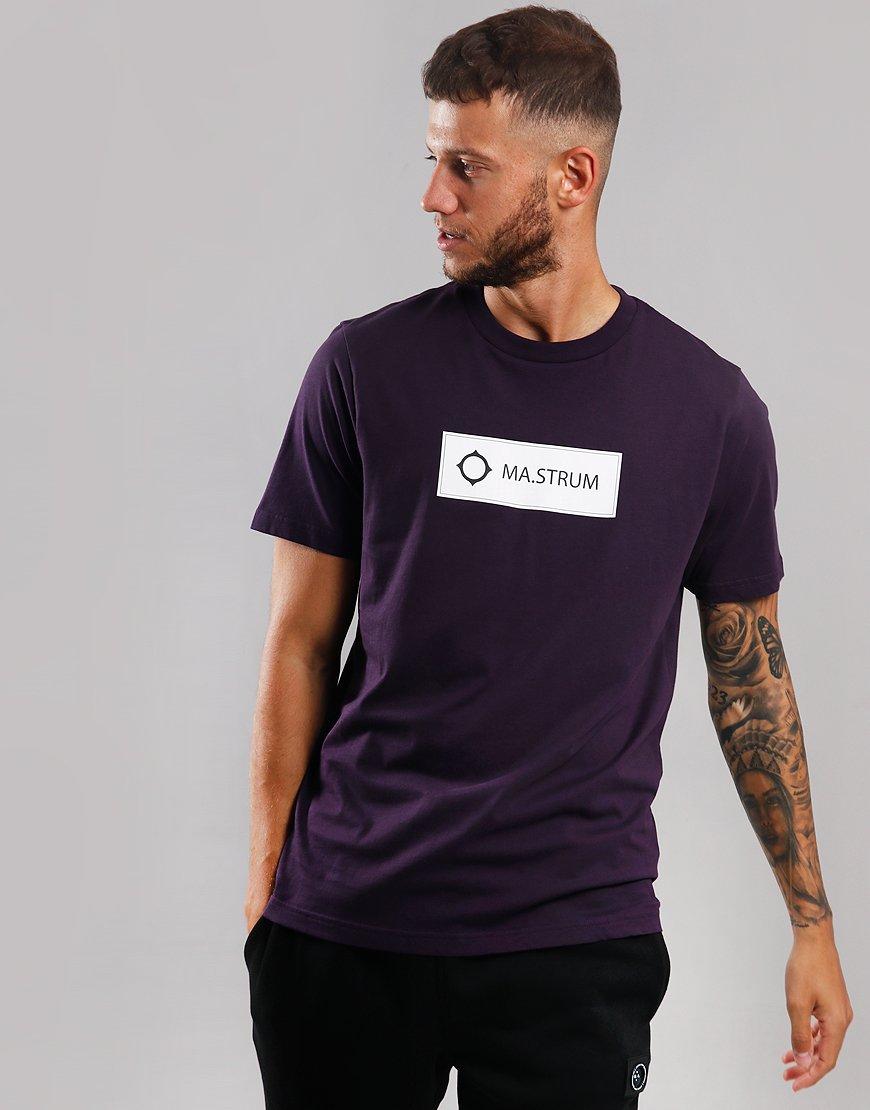 MA.Strum Icon Box Print T-Shirt Phonician