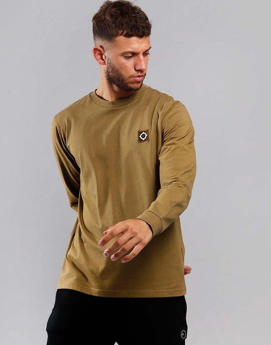MA.Strum Long Sleeve Icon T-Shirt Souse Sand