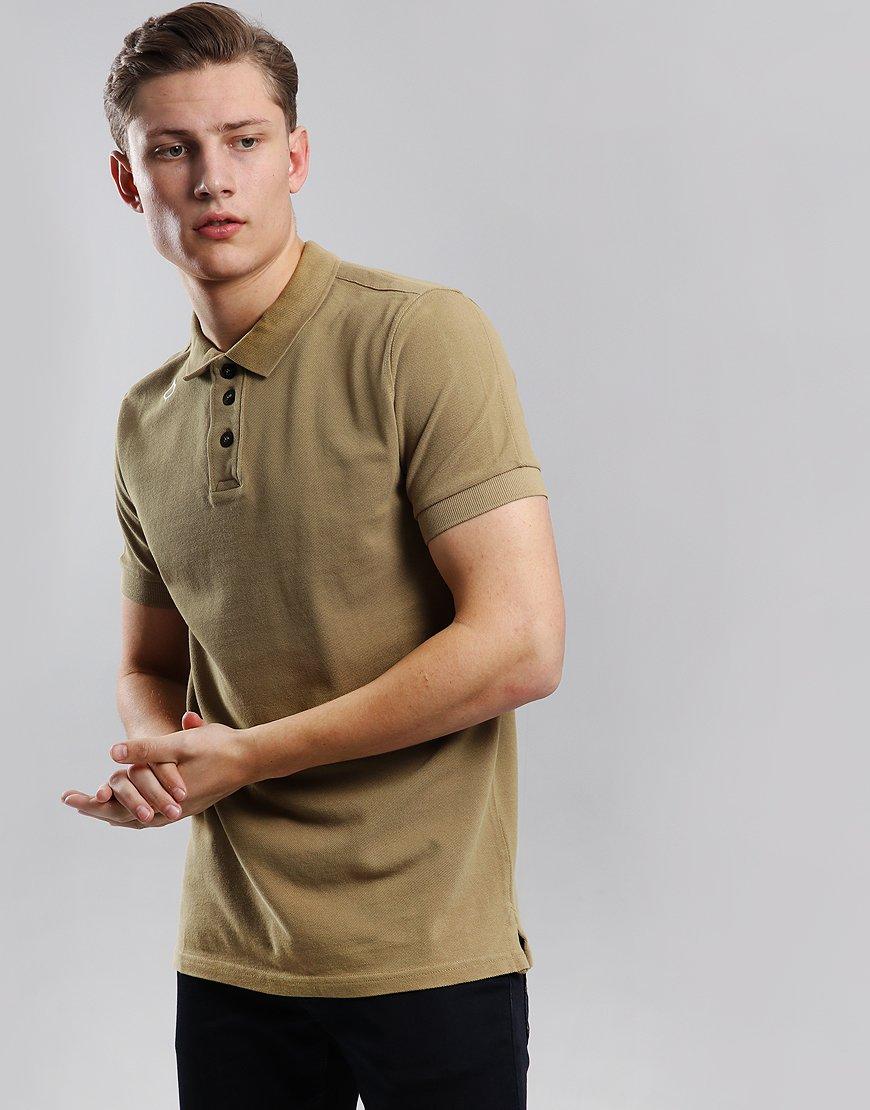 MA.Strum Pique Polo Shirt Desert Khaki